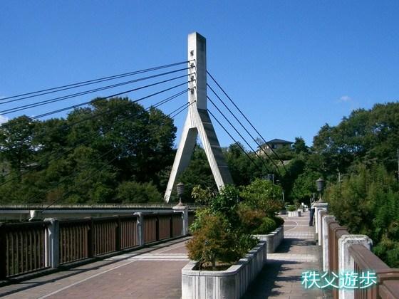 写真:秩父橋(「あの花」の橋)