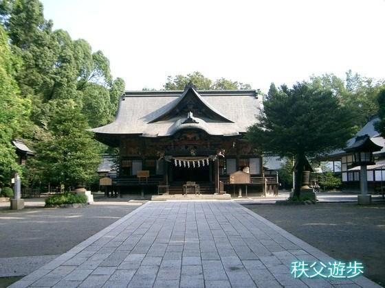 写真:秩父神社(秩父三社)