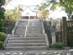 [写真]参道の階段
