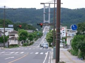 [写真]秩父公園橋通り