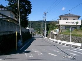 [写真]札所17番入口前の坂道