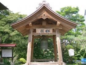 [写真]音楽寺の鐘