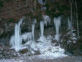 [写真]久月の氷柱