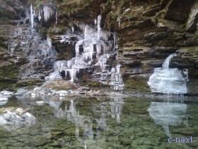 [写真]小さな氷柱