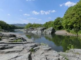 [写真]長瀞の岩畳