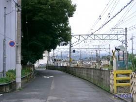 [写真]秩父駅方向