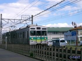 [写真]秩父線の電車