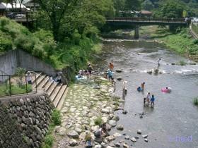 [写真]川遊び