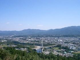[写真]展望台からの風景