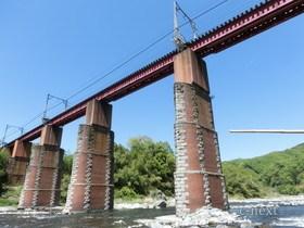 [写真]秩父線荒川橋梁
