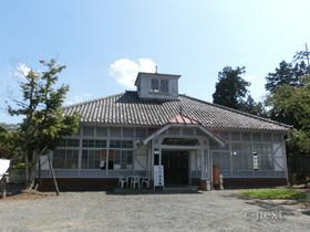 [写真]旧秩父駅舎