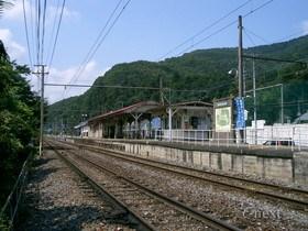 [写真]秩父線樋口駅