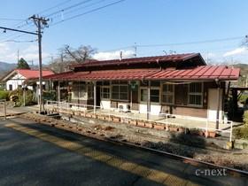 [写真]ホームから見た駅舎