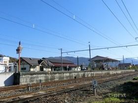 [写真]西側から見た駅
