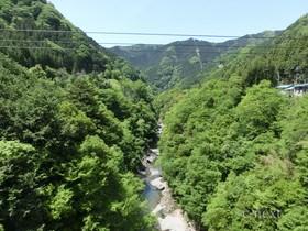 [写真]白川橋の上流側風景