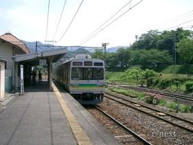 [写真]秩父線電車
