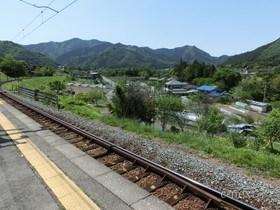 [写真]駅から見た風景